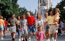 Disney World - Extended family, group